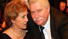 Danuta Wałęsa - wspiera męża, ale o miłości już trudno mówić