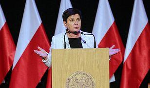 Beata Szydło bezpośrednio po doniesieniach medialnych, odniosła się do sprawy
