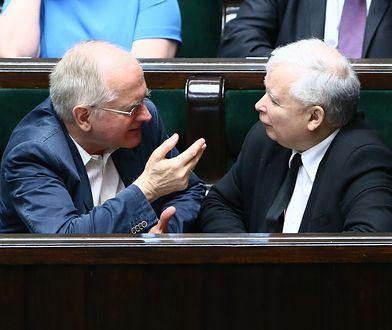Krzysztof Czabański i Jarosław Kaczyński
