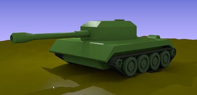 Czołg - zadanie do wykonania