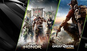 For Honor lub Ghost Recon Wildlands za darmo z kartami graficznymi NVIDIA GeForce GTX