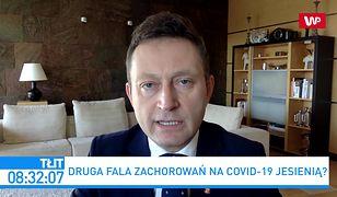 """Koronawirus w Polsce. Rabiej ostrzega przed jesienią. """"Będziemy mieć duży kłopot"""""""
