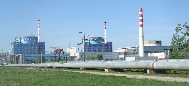 Elektrownia Chmielnicki znajduje się 200 km od granicy z Polską