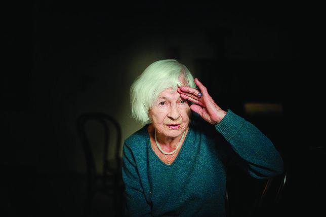 Danuta Szaflarska odeszła w wieku 102 lat (fot. Zbigniew Furman)