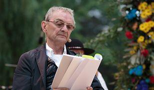 Jerzy Bończak przed konferencją prasową żartował z przedstawicieli Urzędu Marszałkowskiego