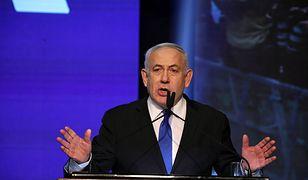 """Benjamin Netanjahu obiecywał swoim potencjalnym wyborcom: """"Dam wam stabilizację"""" - przypomina niemiecka prasa"""