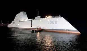 Pierwszy niszczyciel typu Zumwalt opuszcza stocznię