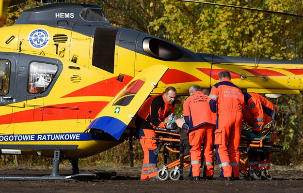 Wybuch gazu w Pniewach. Pięć osób rannych, trwa akcja ratownicza