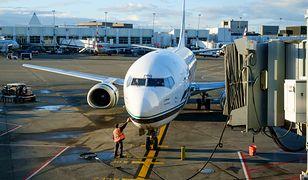 Maszyna leciała z Paine Field do portu lotniczego Seattle-Tacoma (zdj. ilustr.)
