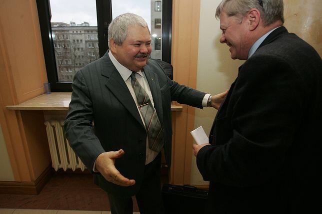 Pierwszy z lewej - Tadeusz Kopczyński