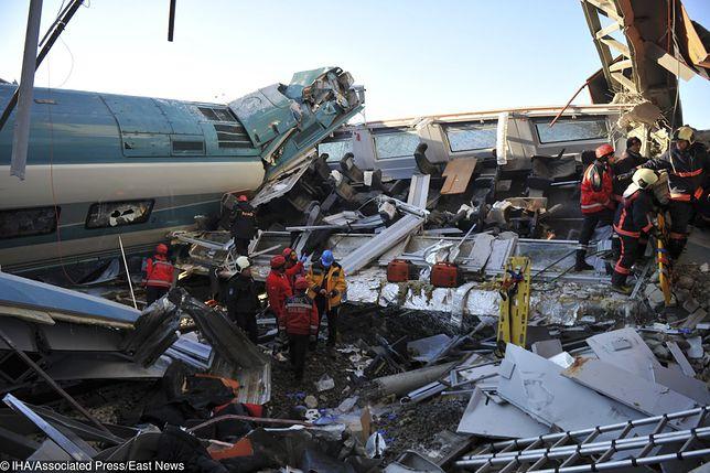 Katastrofa kolejowa w Turcji. Są ranni i zabici