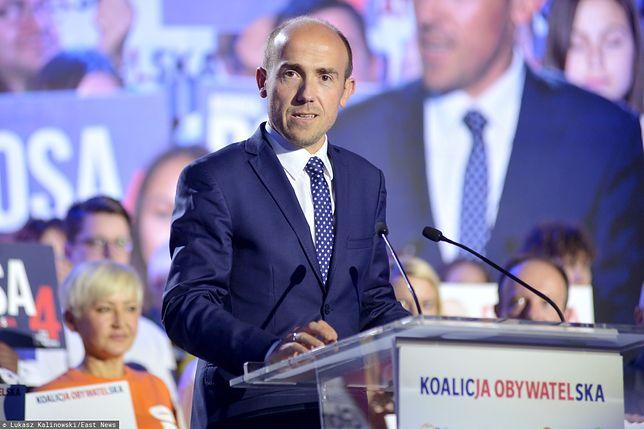 Wyniki wyborów parlamentarnych. Borys Budka komentuje