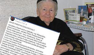 Irena Sendlerowa ma być patronką szkoły w Izdebniku