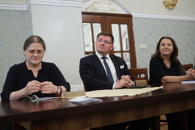Krystyna Pawłowicz, Tomasz Rzymkowski i Joanna Lichocka