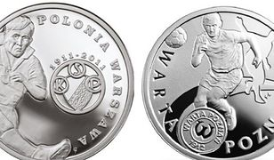 Legia będzie miała swoją monetę. NBP uhonoruje stołeczny klub