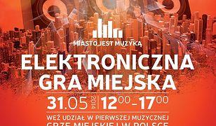 Miasto jest Muzyką - elektroniczna gra miejska