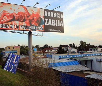 Billboard przy ul. Płowieckiej