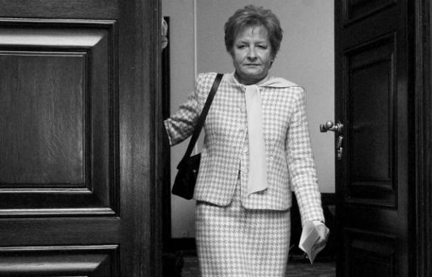 Zyta Gilowska zmarła w wieku 66 lat