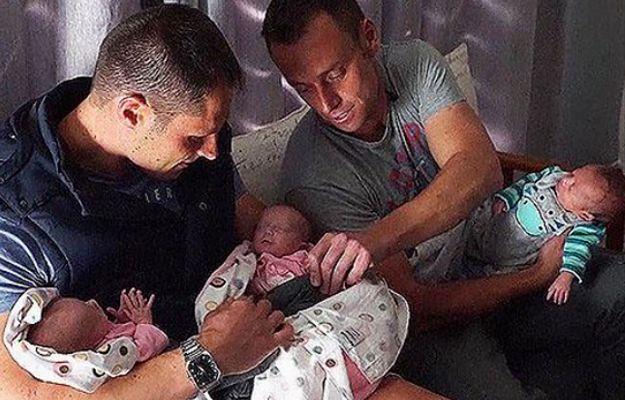 Dwaj mężczyźni zostali ojcami trojaczków. To pierwszy taki przypadek na świecie