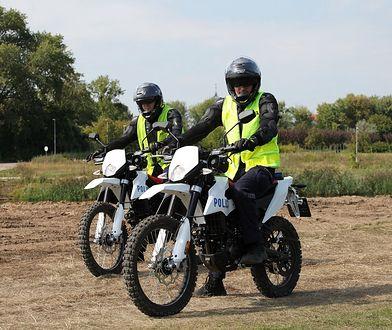 Policja ma nowe motocykle. To offroadowe aprilie RX 125