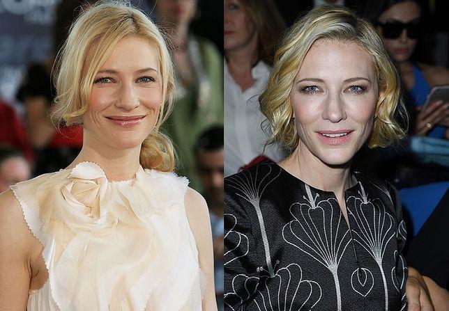 Kate Blanchett w 2006 i w 2016 roku