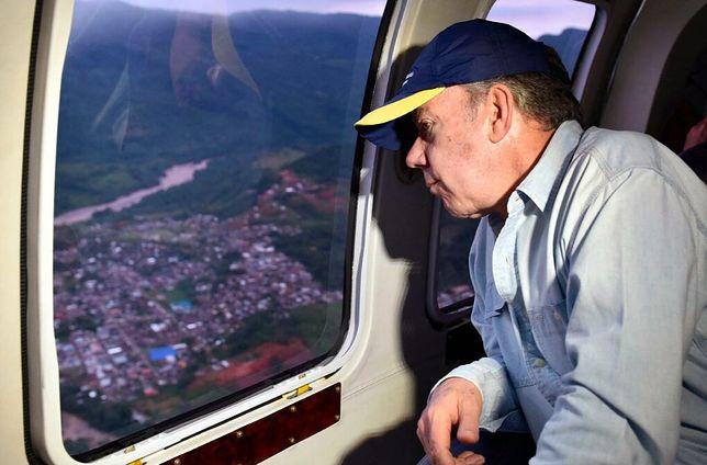 234 ofiary śmiertelne powodzi w Kolumbii
