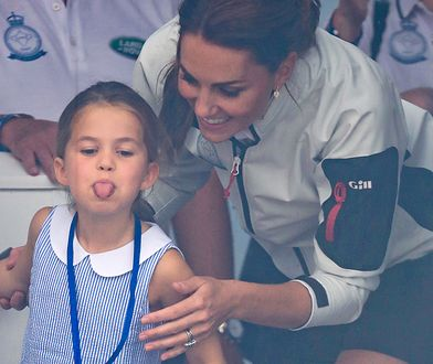 Kate Middleton z księżniczką Charlotte