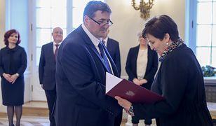 Sędzia Grzegorz Jędrejek jest już członkiem PKW
