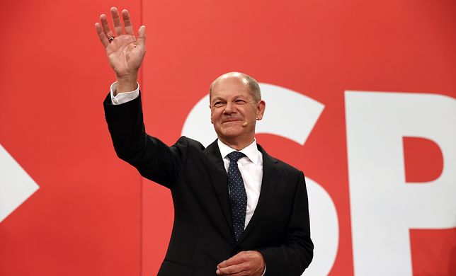 Olaf Scholz jest kandydatem socjaldemokratów na stanowisko kanclerza Niemiec