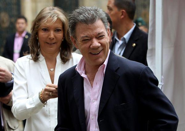Juan Manuel Santos ponownie prezydentem Kolumbii