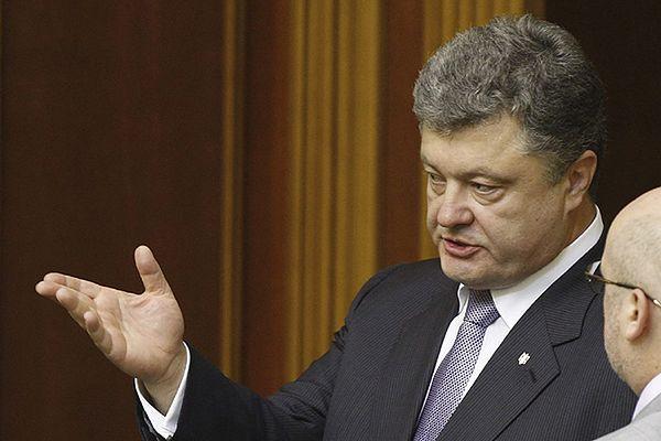 Petro Poroszenko wzywa wschód Ukrainy, by poparł jego plan pokojowy