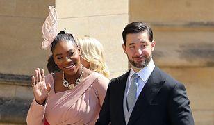 Stylowa Serena Williams na ślubie Harry'ego i Meghan. Wybrała piękną kreację