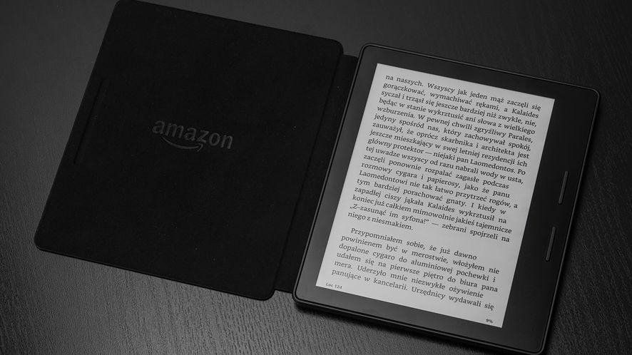 Kindle Oasis, nowy, jeszcze lepszy czytnik Amazona za ponad 1250 złotych