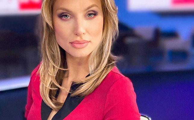 Karolina Pajączkowska jest gwiazdą TVP Info.