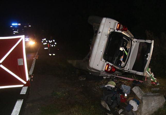 Wypadek we Włosienicy. Nie żyje 28-latek