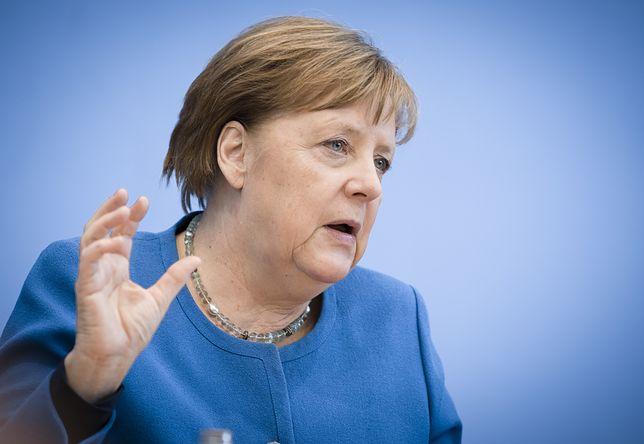 Angela Merkel wspomniała o sankcjach ws. Nord Stream 2