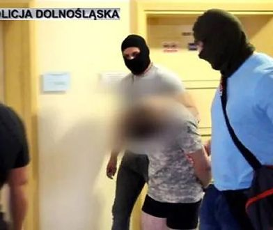 Jakub A. doprowadzony do aresztu.