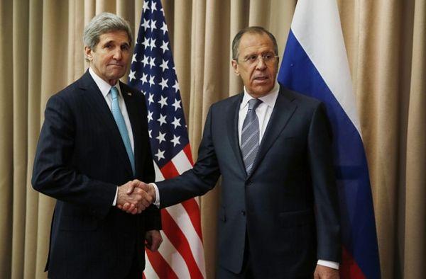 Spotkanie ws. Syrii z udziałem Johna Kerry'ego i Siergieja Ławrowa