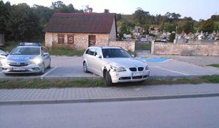 Pińczów. Obywatelskie zatrzymanie pijanego kierowcy BMW