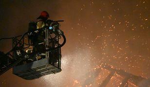 Pożar w Świdnicy. Ucierpiała zabytkowa kamienica