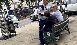 Wielka Brytania. Zaatakował na ulicy, nie wiedząc, z kim zadziera [WIDEO]
