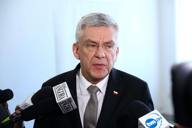 KE chce zawieszenia Izby Dyscyplinarnej. Stanisław Karczewski: dziwię się decyzji Komisji Europejskiej