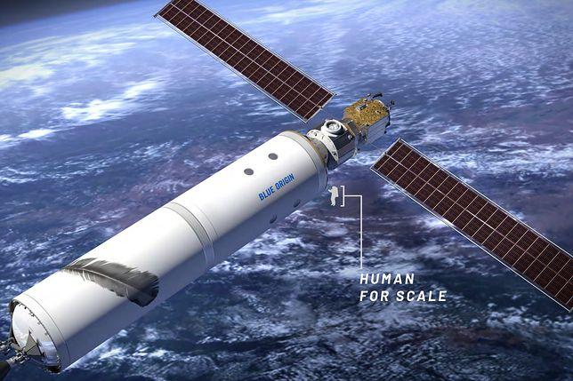 Blue Origin zaprezentował model własnej stacji kosmicznej.