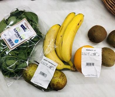 Zakupione owoce
