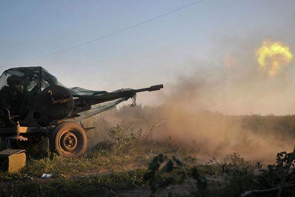 Ukraiński batalion Donbass podczas działań bojowych
