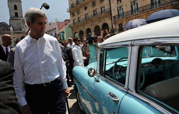 John Kerry z historyczną wizytą na Kubie