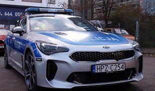 Kia Stinger GT - najnowszy nabytek stołecznej drogówki