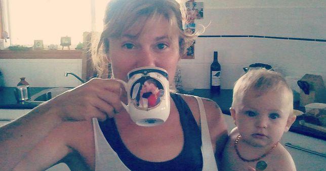 Davina Wrighti, zdjęcie z bloga The Milk Meg.