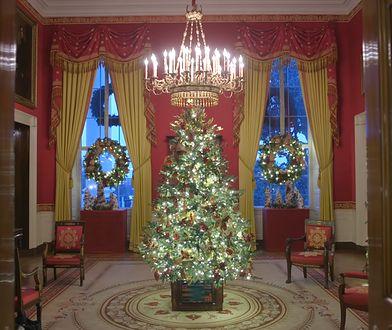Melania Trump udekorowała Biały Dom na mikołajki i Boże Narodzenie