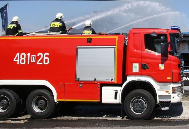 Straż Pożarna w akcji (zdjęcie ilustracyjne)